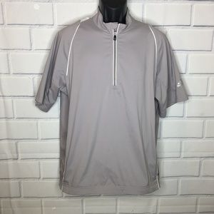Adidas Golf Climaproof Pullover Wind Jacket Shirt